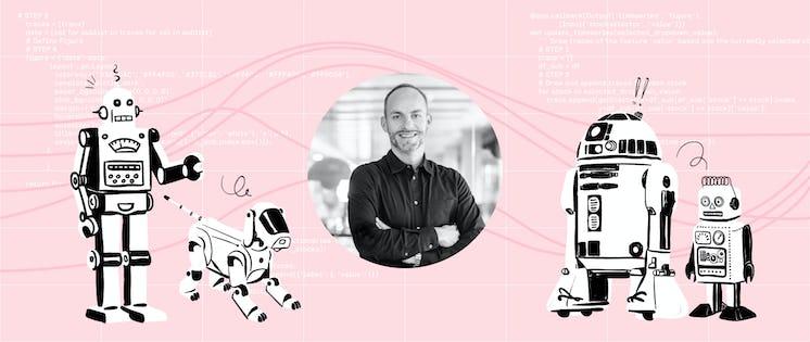 Pleo Hero im Oktober 2020: Julian, CFO von STATWORX