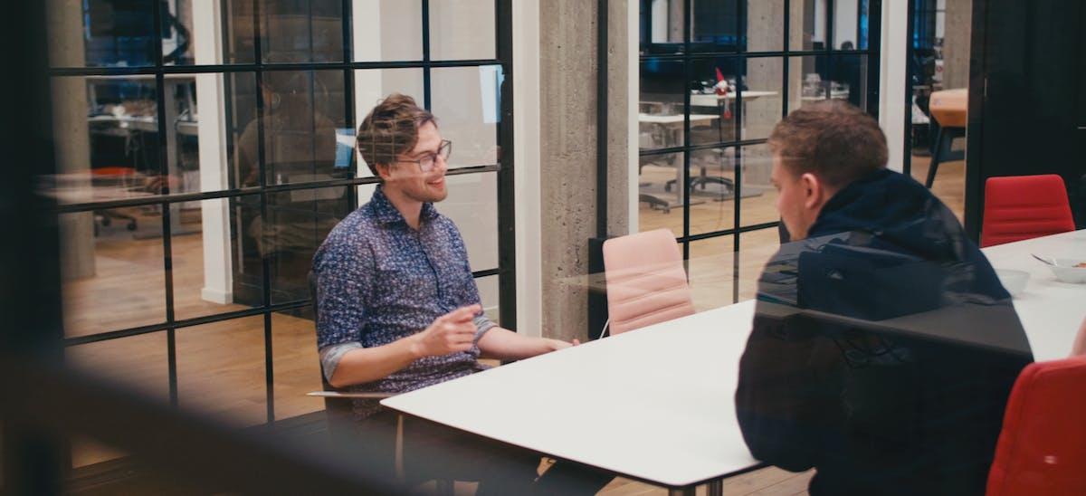 Pleo användare på Nodes i ett möte