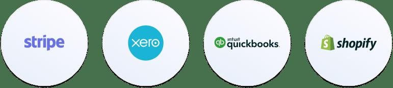 Stripe Xero Intuit Quickbooks Shopify