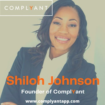 Shiloh Johnson Founder of ComplYantApp Talks Her Journey As A Startup Founder