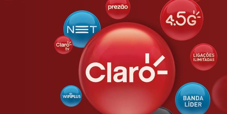 Logo NET Claro