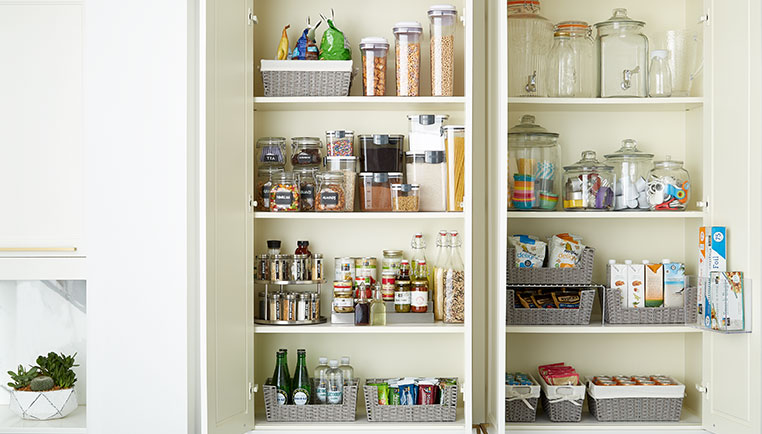 How To Organize Your Pantry Cabinet
