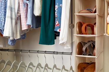 Step 1: The Closet
