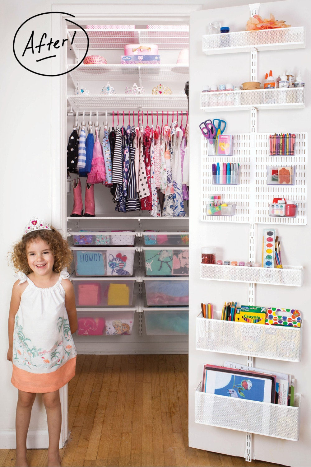 A Custom Closet Fit For A Princess Container Stories