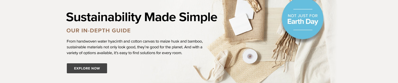 Sustainability Made Simple - Not Just Earth Day