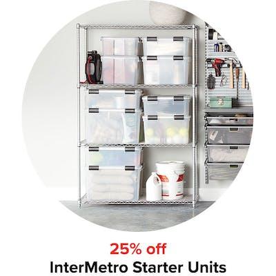 25% off InterMetro Starter Units