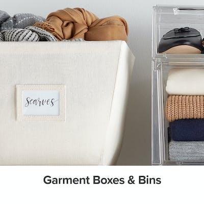 Garment Boxes & Bins
