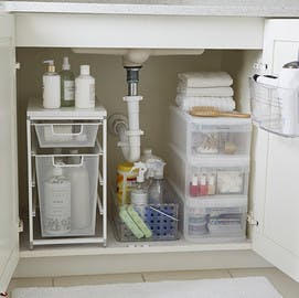 Bathroom Storage Ideas How To Organize Your Bathroom The Container Store