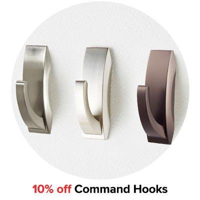 10% off Command Hooks