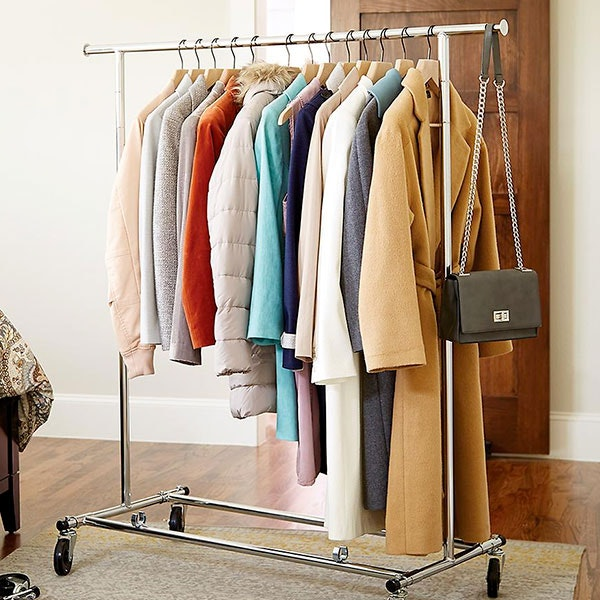 Folding Commercial Clothes Rack