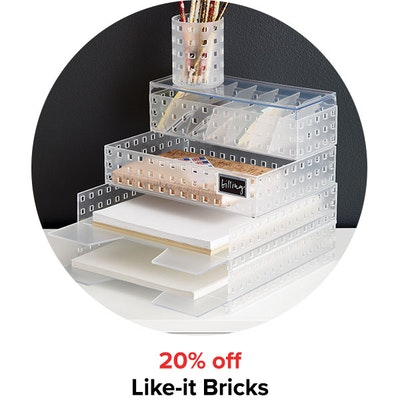 20% off Like-it Bricks