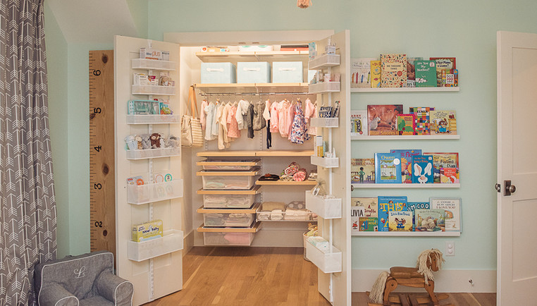 Baby Closet Organization Ideas - How To Organize A Baby Closet | The Container Store