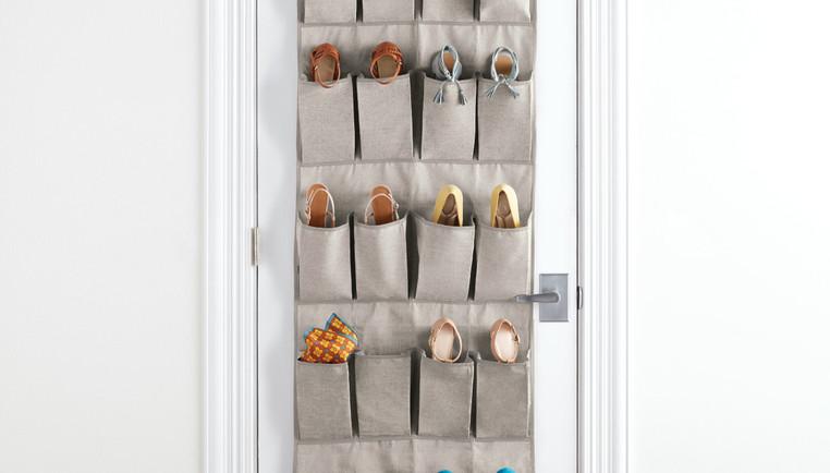 Shoe Storage Ideas for College & Dorms