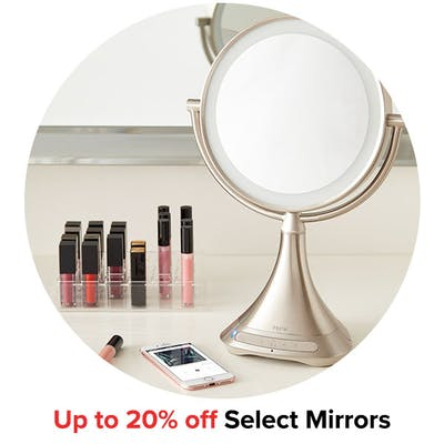 Up to 20% off Select Mirrors