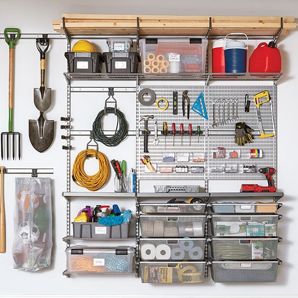 Project: How to Organize Your Garage with Shelving