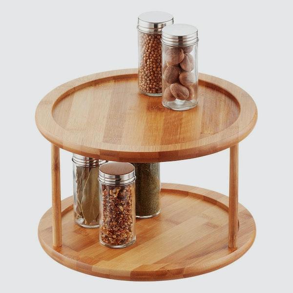 Bamboo Turntable