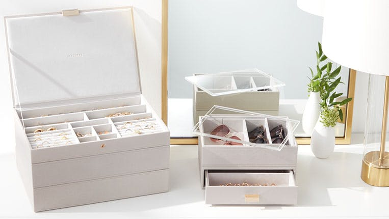 How To Organize Your Jewelry Jewelry Organization Ideas The Container Store
