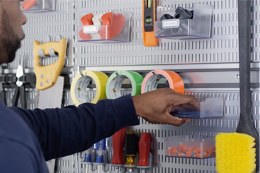 Step 3: Store Tools On The Wall