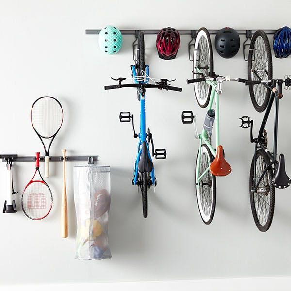 Option 3: Elfa Bike Hooks