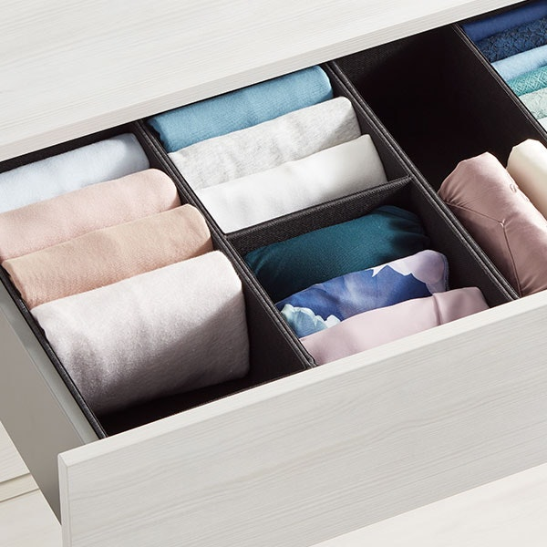 How To Fold Clothes for an Organized Drawer