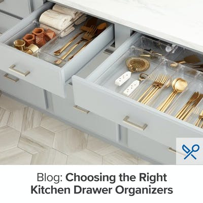 Choose the Right Drawer Organizers