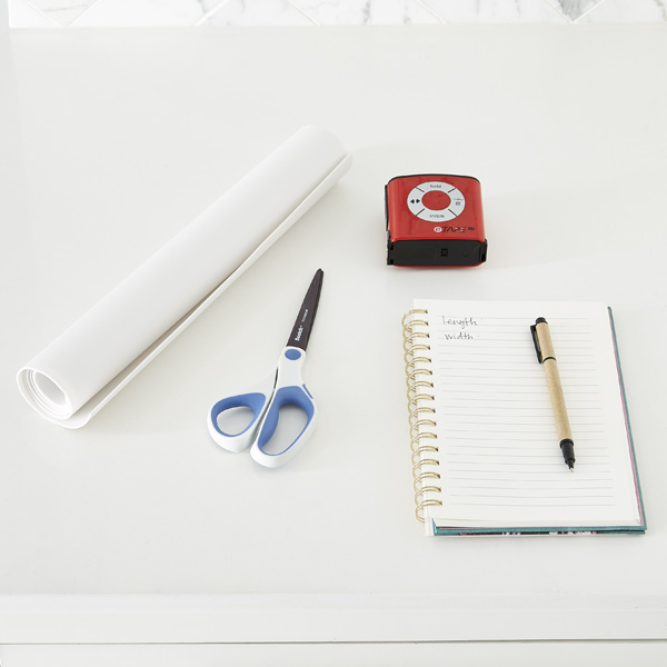 Step 2: Measure & Line Your Shelves