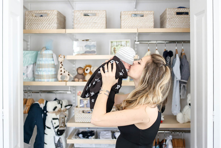 An Elfa Nursery Transformation Fit For Baby & Co. | Container Stories