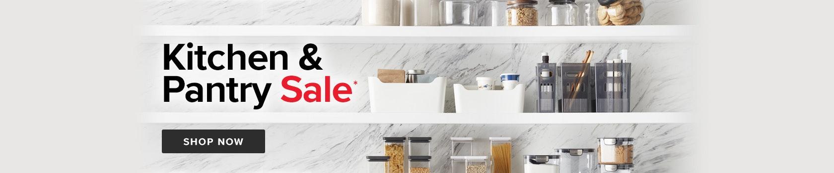 Kitchen & Pantry Sale