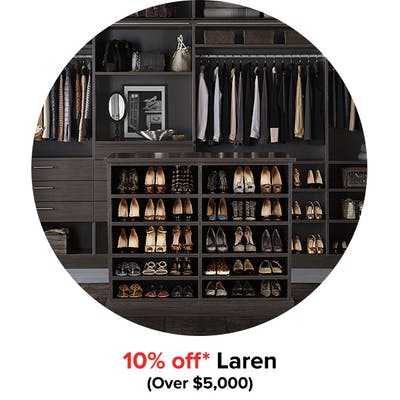 10% off* Laren