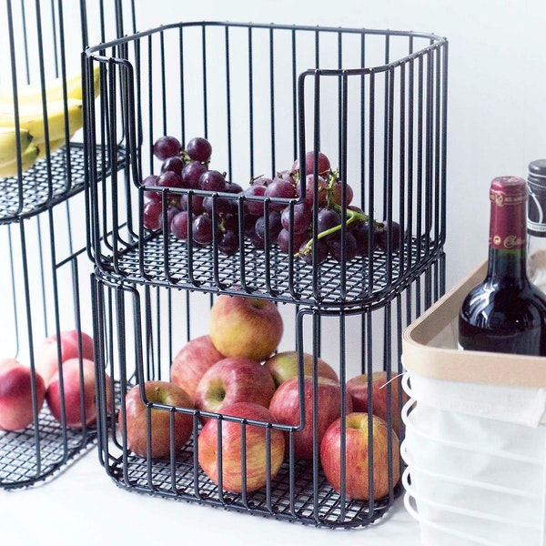 Vertica Stacking Baskets
