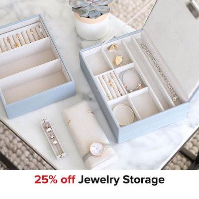25% off Jewelry Storage