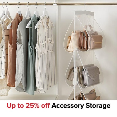 Up to 25% off Accessory Storage