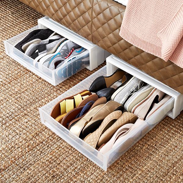 Step 5: Under Bed Storage