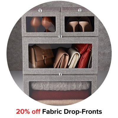 20% off Fabric Drop-Fronts