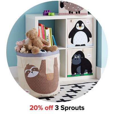 20% off 3 Sprouts