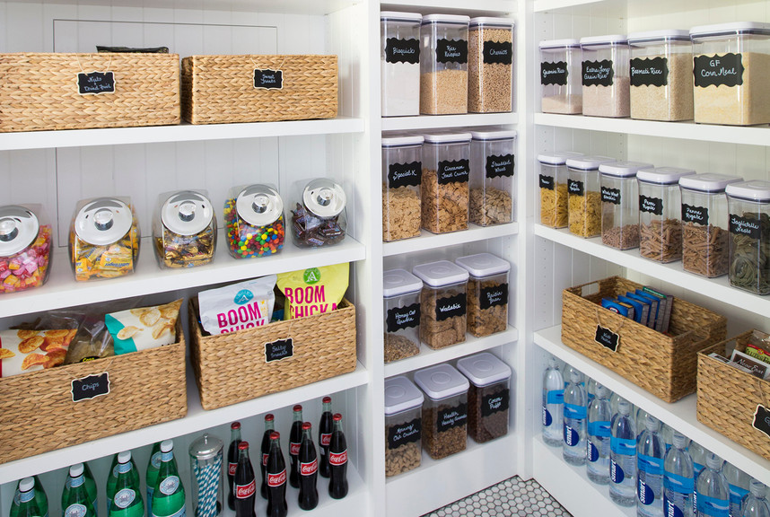 Organize Pantry Closet
