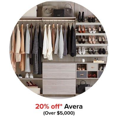 20% off* Avera