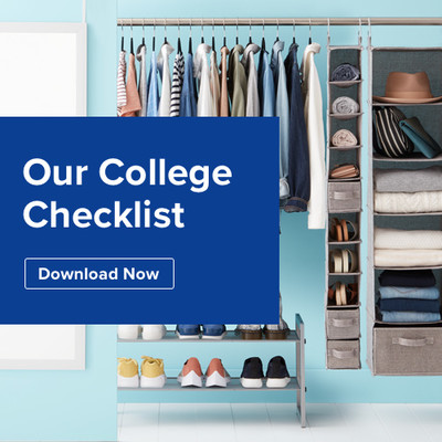 College Dorm Storage Organization Sale Get 20 Off Your Purchase In July August The Container Store
