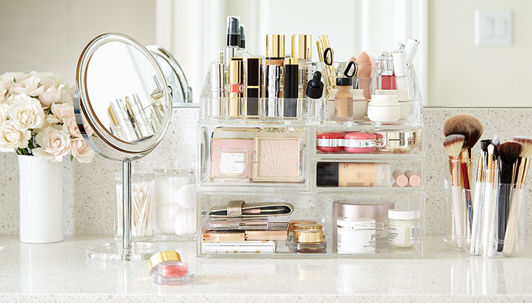 How To Organize Your Makeup