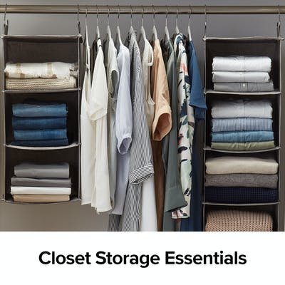 Closet Storage Essentials