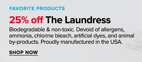 25% off The Laundress