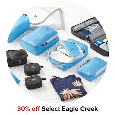 30% off Select Eagle Creek