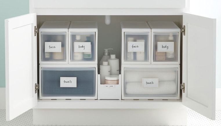 How To Organize Under A Bathroom Sink