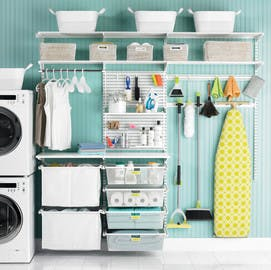Laundry Storage Ideas How To Organize Your Laundry The Container Store