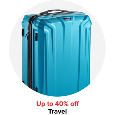 Up to 40% off Travel