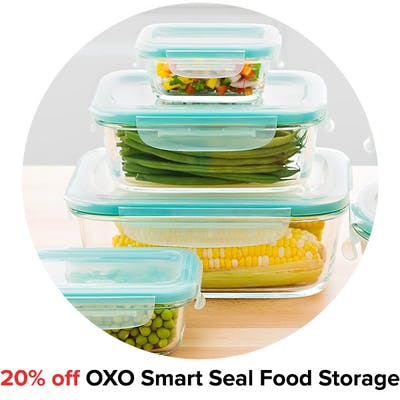 20% off OXO Smart Seal Food Storage
