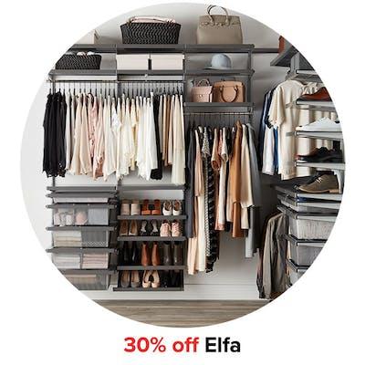 30% off Elfa