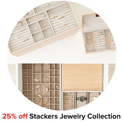 25% off Stackers Jewelry Collection