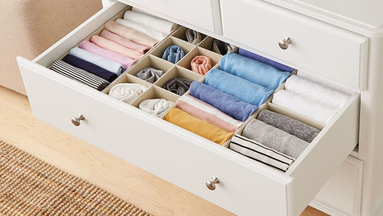 Clothes For Organized Dresser Drawers