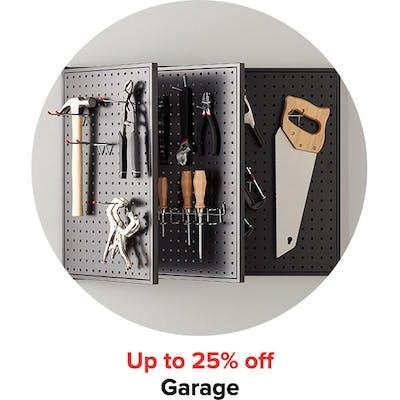 Up to 25% off Garage